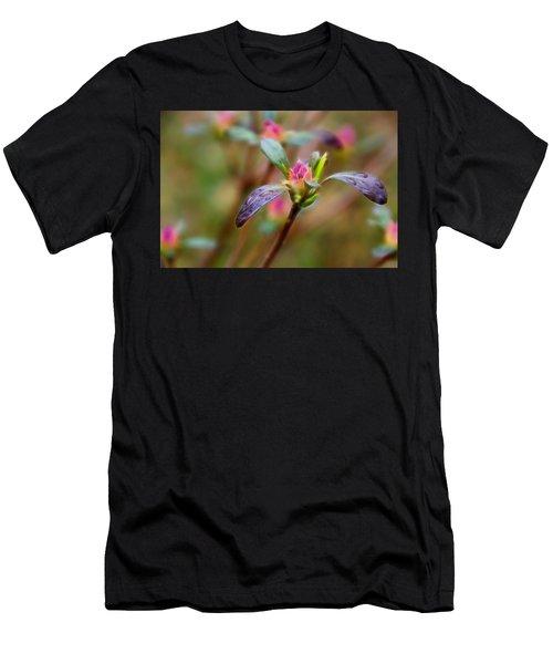 Azalea Bud Energy Men's T-Shirt (Athletic Fit)