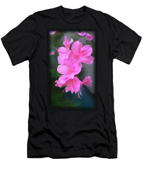 Azalea Spray Men's T-Shirt (Athletic Fit)
