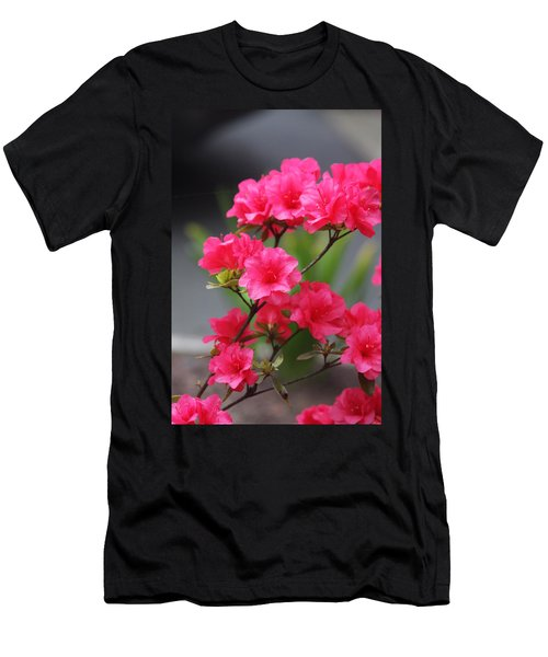 Men's T-Shirt (Slim Fit) featuring the photograph Azalea by Vadim Levin