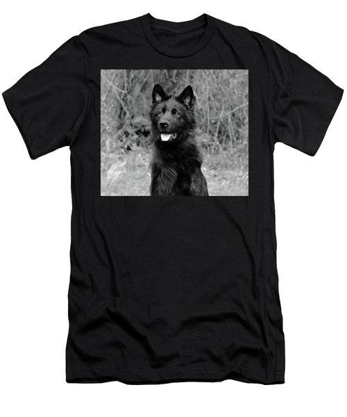 Men's T-Shirt (Slim Fit) featuring the photograph Aziza  by Sandy Keeton