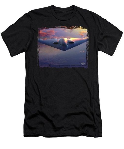 B-2 Spirit No. 3 Men's T-Shirt (Athletic Fit)