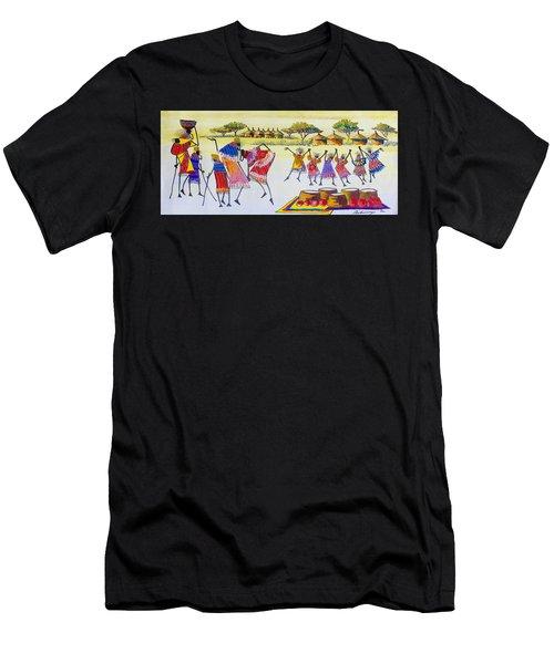 B 350 Men's T-Shirt (Athletic Fit)