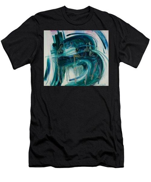 B -allet Men's T-Shirt (Athletic Fit)