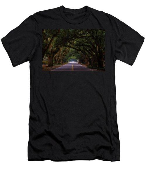Boundary Ave Aiken Sc 6 Men's T-Shirt (Athletic Fit)