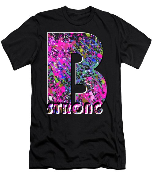 B Strong Men's T-Shirt (Athletic Fit)