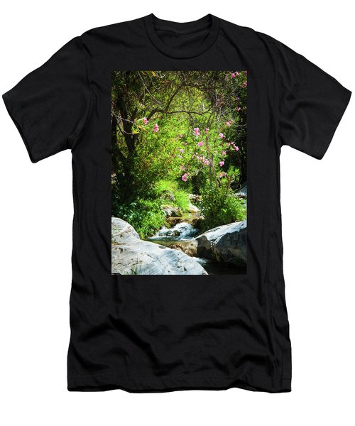 Babbling Brook Men's T-Shirt (Athletic Fit)