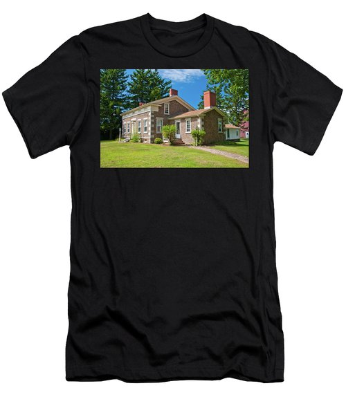 Men's T-Shirt (Slim Fit) featuring the photograph Babcock House Museum 2250 by Guy Whiteley