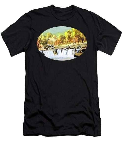 Babcock State Park West Virginia Men's T-Shirt (Athletic Fit)