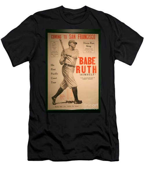 Babe Ruth Old Banner Men's T-Shirt (Athletic Fit)