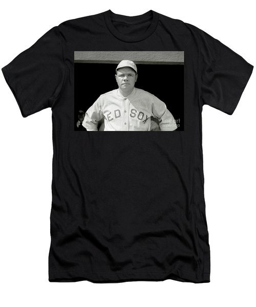 Babe Ruth Red Sox Men's T-Shirt (Athletic Fit)