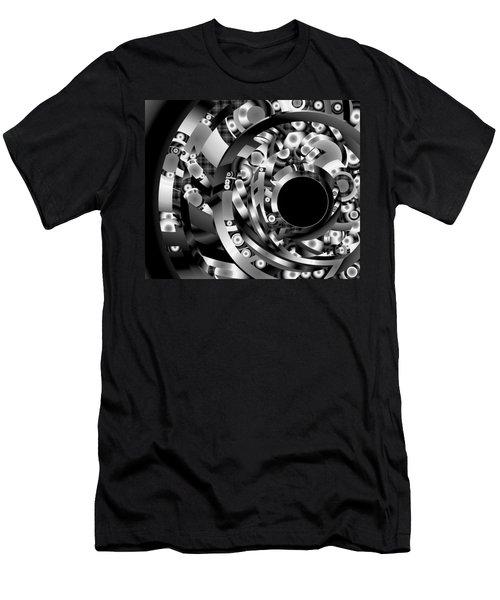 Men's T-Shirt (Slim Fit) featuring the digital art Babel by Lynda Lehmann