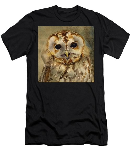 Baby Barred Owl Men's T-Shirt (Athletic Fit)