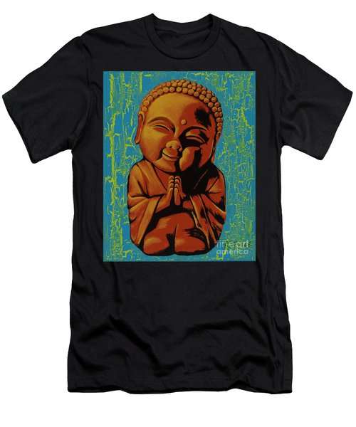 Baby Buddha Men's T-Shirt (Athletic Fit)