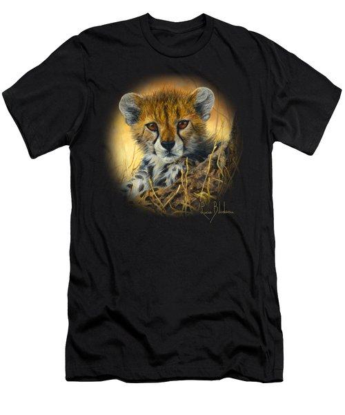 Baby Cheetah  Men's T-Shirt (Athletic Fit)
