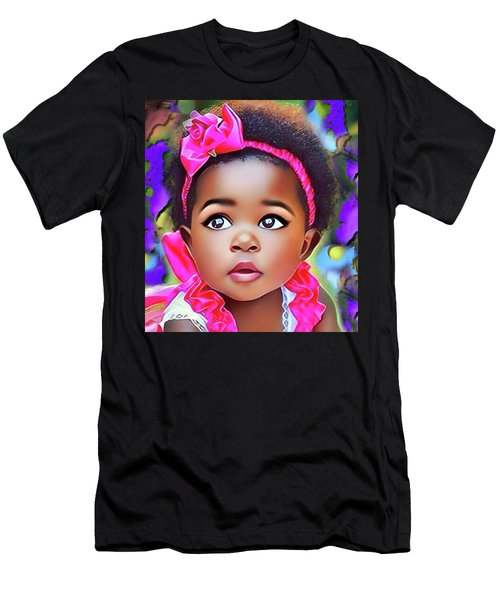 Baby Girl Men's T-Shirt (Athletic Fit)
