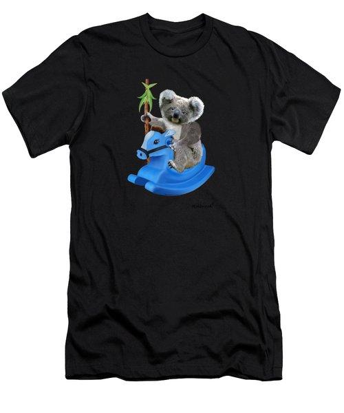 Baby Koala Buckaroo Men's T-Shirt (Athletic Fit)