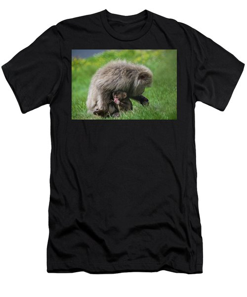 Baby Monkey Men's T-Shirt (Athletic Fit)