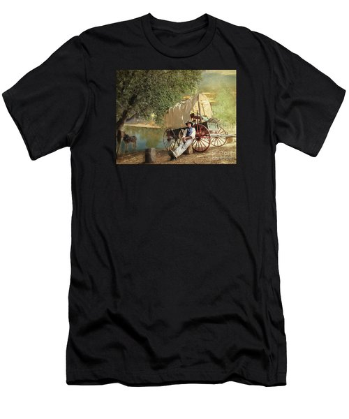 Back Country Camp Out Men's T-Shirt (Athletic Fit)