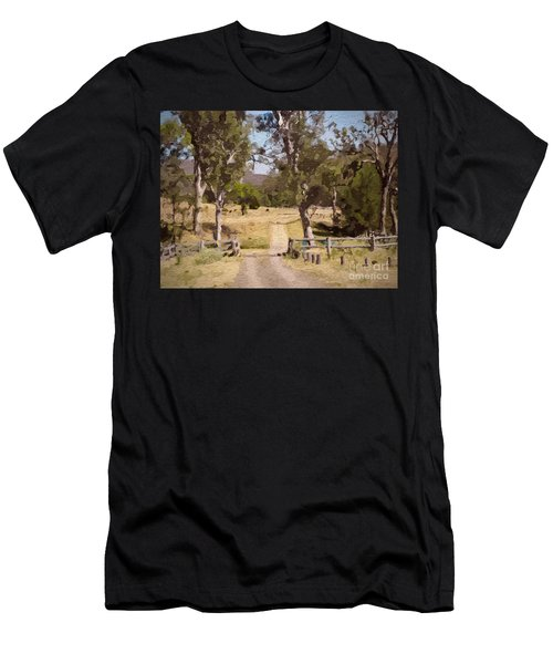 Back Country Farm Track Men's T-Shirt (Athletic Fit)