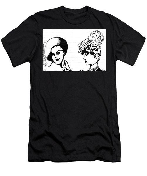 Back In Twenties Mural Men's T-Shirt (Slim Fit) by Yurix Sardinelly