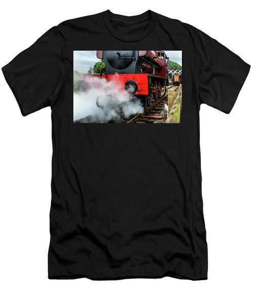 Men's T-Shirt (Athletic Fit) featuring the photograph Back It Up by Nick Bywater