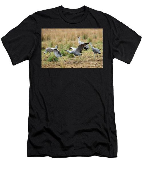 Back Off Men's T-Shirt (Athletic Fit)