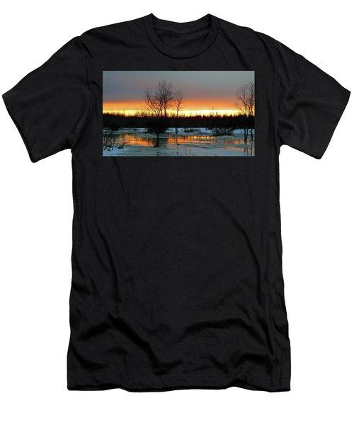 Back Roads Of Clayton Men's T-Shirt (Athletic Fit)