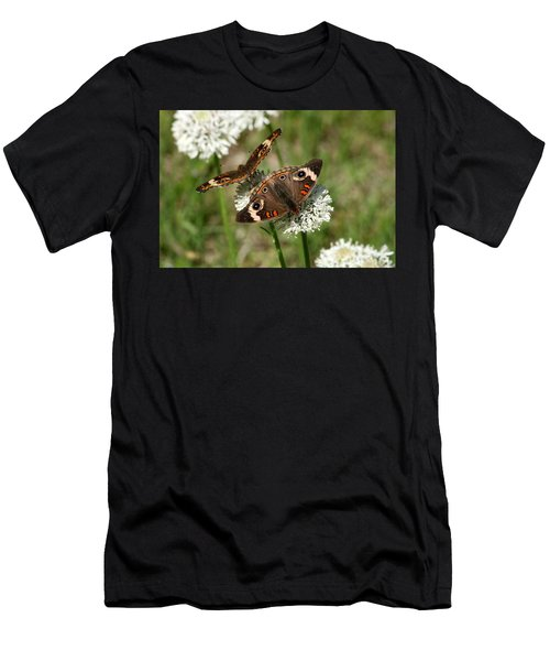 Back To Back Butterflies Men's T-Shirt (Athletic Fit)