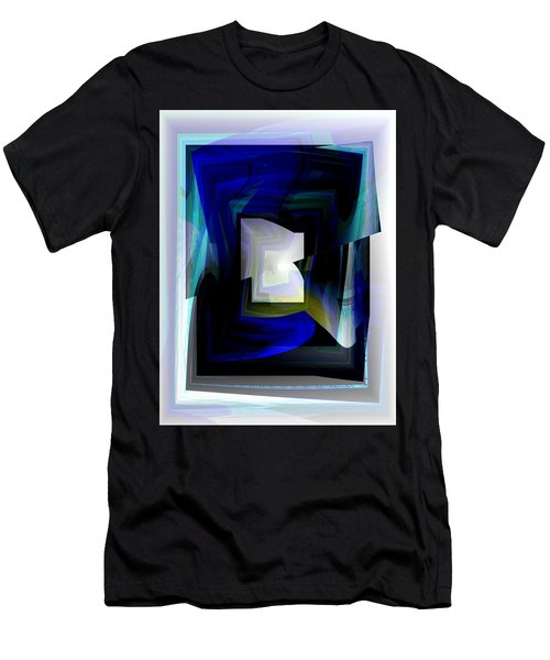 The End Of The Tunnel Men's T-Shirt (Slim Fit) by Thibault Toussaint