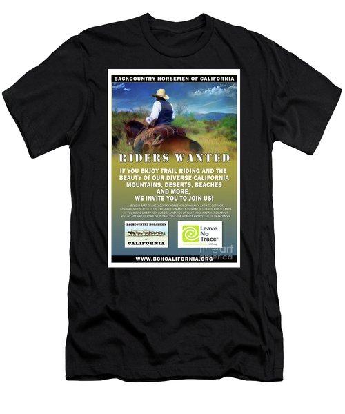 Backcountry Horsemen Join Us Poster Men's T-Shirt (Athletic Fit)