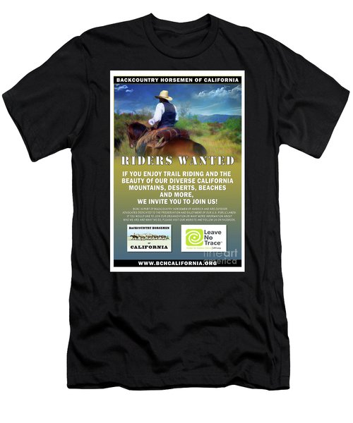 Backcountry Horsemen Join Us Poster Men's T-Shirt (Athletic Fit)
