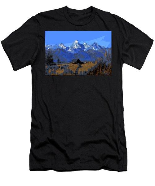 Backdrop Men's T-Shirt (Athletic Fit)