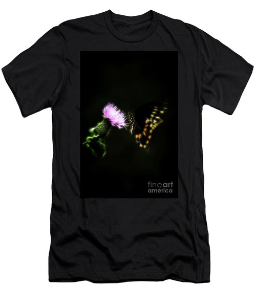 Backroad Butterfly Men's T-Shirt (Athletic Fit)