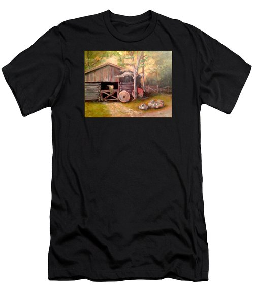 Backwoods Barn Men's T-Shirt (Athletic Fit)