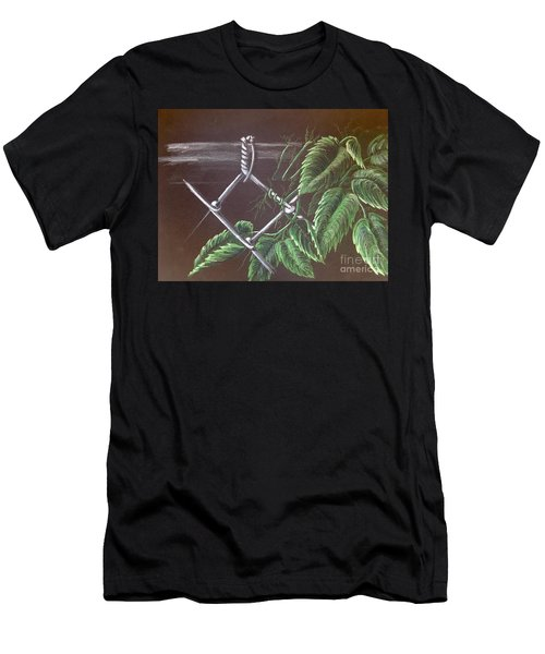 Backyard  Men's T-Shirt (Athletic Fit)