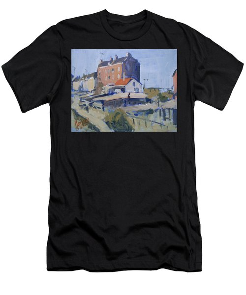 Backyard Spaarndammerdijk Men's T-Shirt (Athletic Fit)