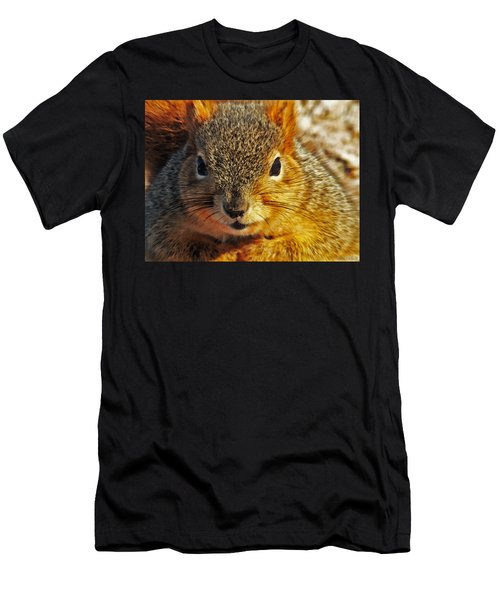 Backyard Squirrel Men's T-Shirt (Athletic Fit)