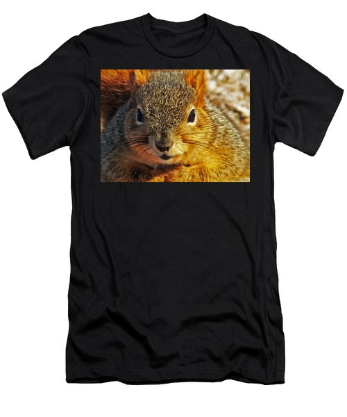 Backyard Squirrel Men's T-Shirt (Athletic Fit)