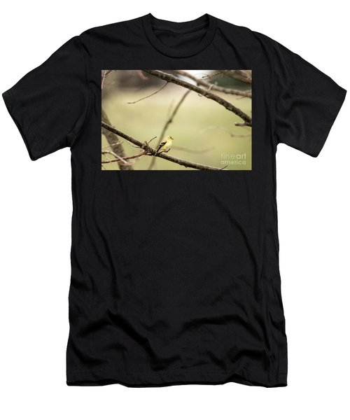 Backyard Yellow Men's T-Shirt (Athletic Fit)