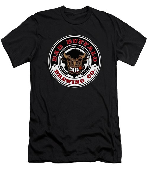 Bad Buffalo Brewing Men's T-Shirt (Athletic Fit)