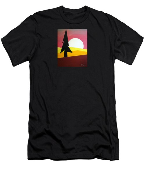 Bad Moon Rising Men's T-Shirt (Athletic Fit)