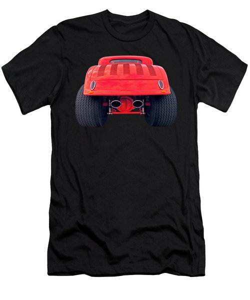 Badass Hotrod Men's T-Shirt (Athletic Fit)