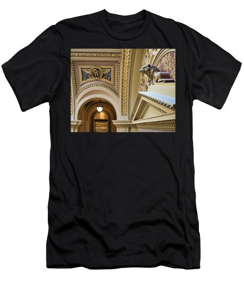 Badger -capitol - Madison - Wisconsin Men's T-Shirt (Athletic Fit)