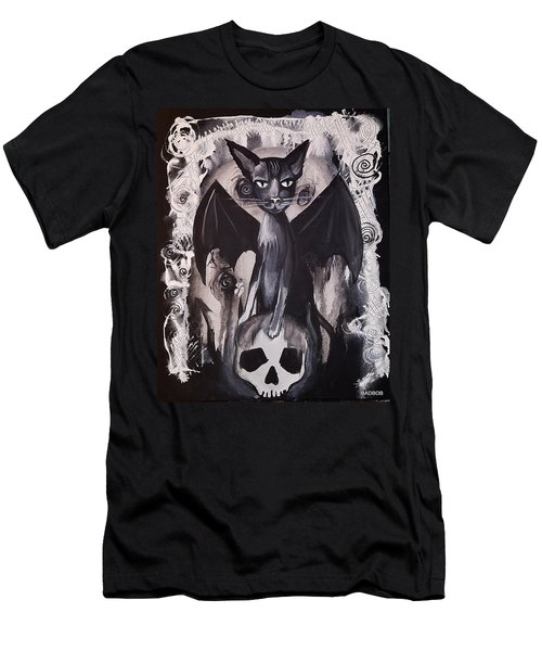Badkitty Men's T-Shirt (Athletic Fit)