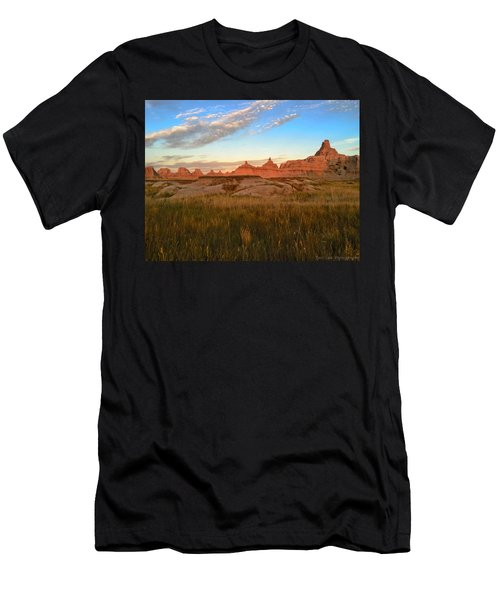Badlands Evening Glow Men's T-Shirt (Athletic Fit)