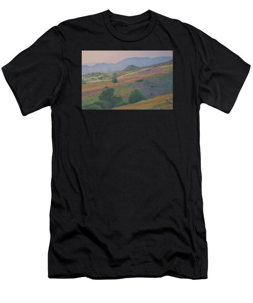 Badlands In July Men's T-Shirt (Athletic Fit)