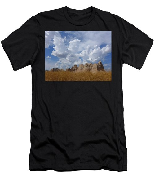 Men's T-Shirt (Athletic Fit) featuring the photograph Badlands by Keith McGill
