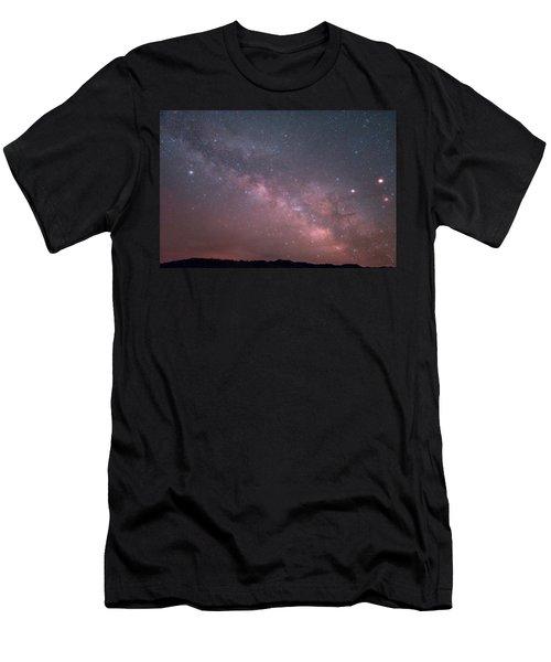 Badlands Milky Way Men's T-Shirt (Athletic Fit)
