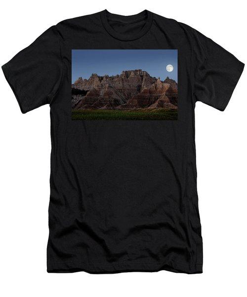 Badlands Moon Rising Men's T-Shirt (Athletic Fit)