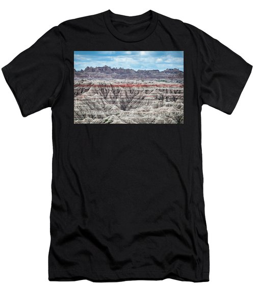 Badlands National Park Vista Men's T-Shirt (Athletic Fit)
